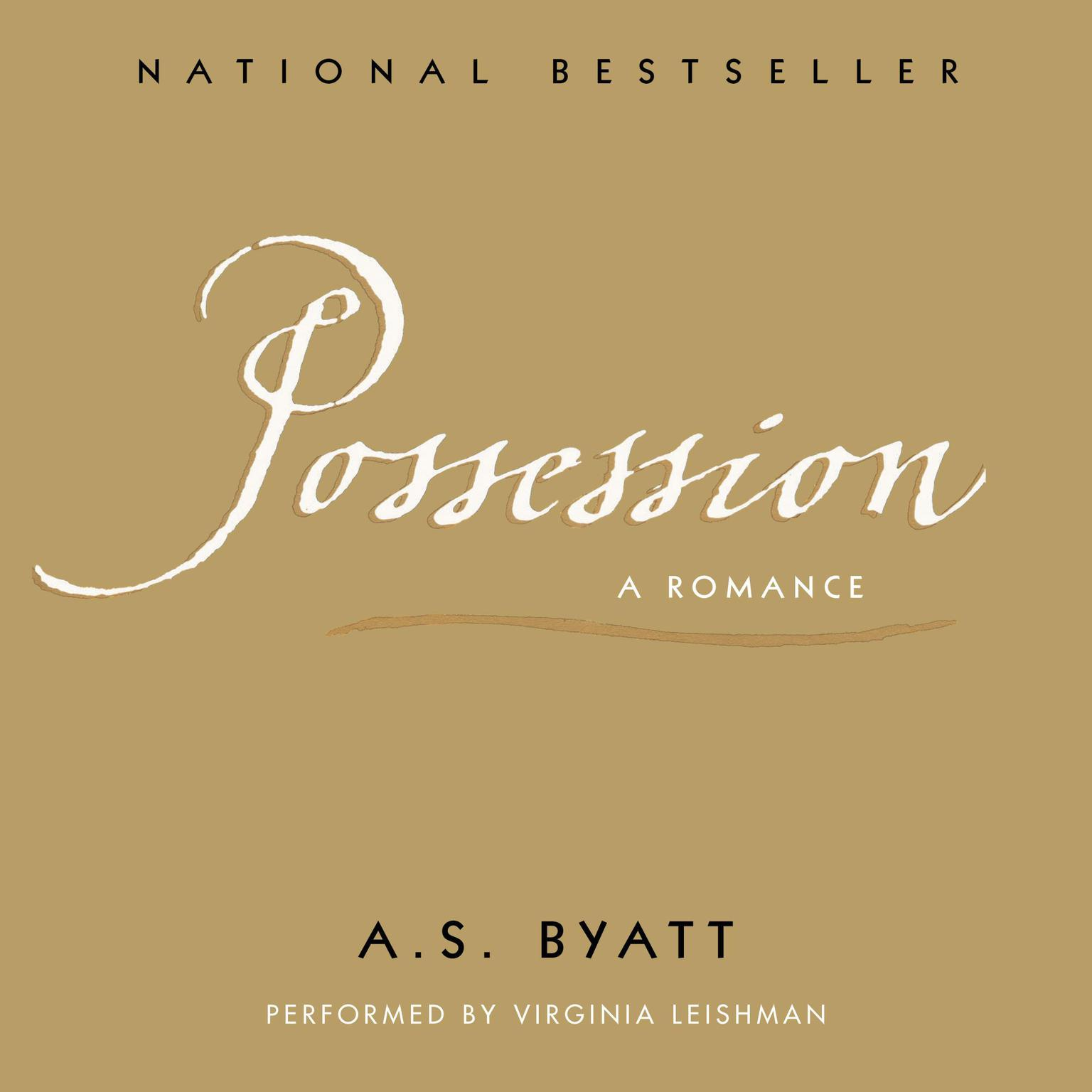 Printable Possession Audiobook Cover Art