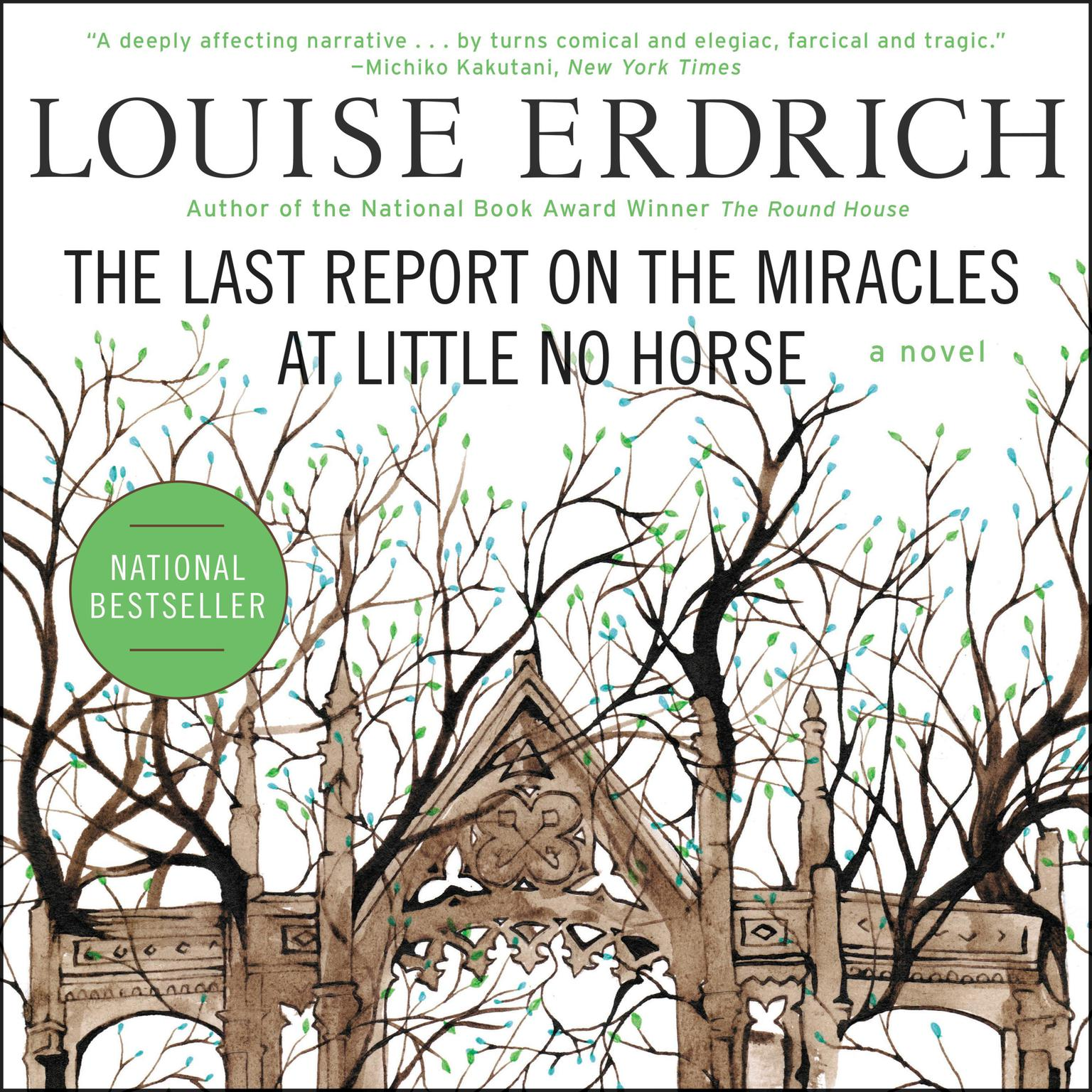 Printable The Last Report on the Miracles at Little No Horse Audiobook Cover Art