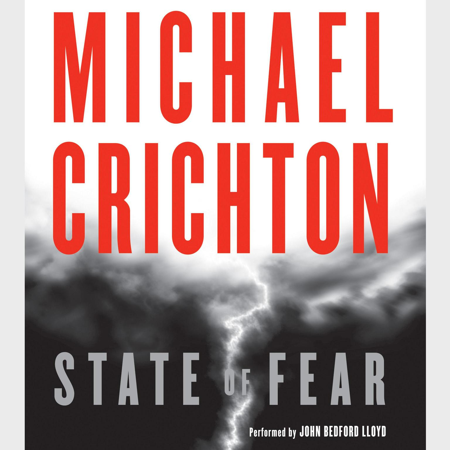 Printable State of Fear Audiobook Cover Art