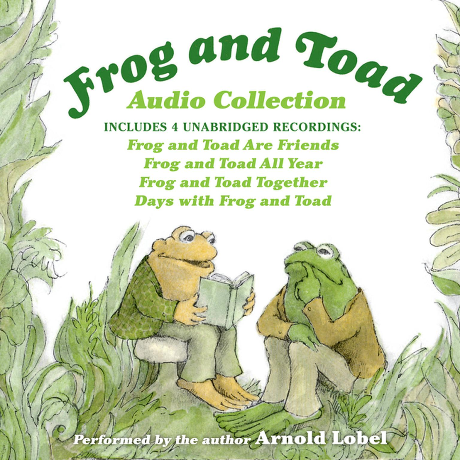 Printable Frog and Toad Audio Collection Audiobook Cover Art