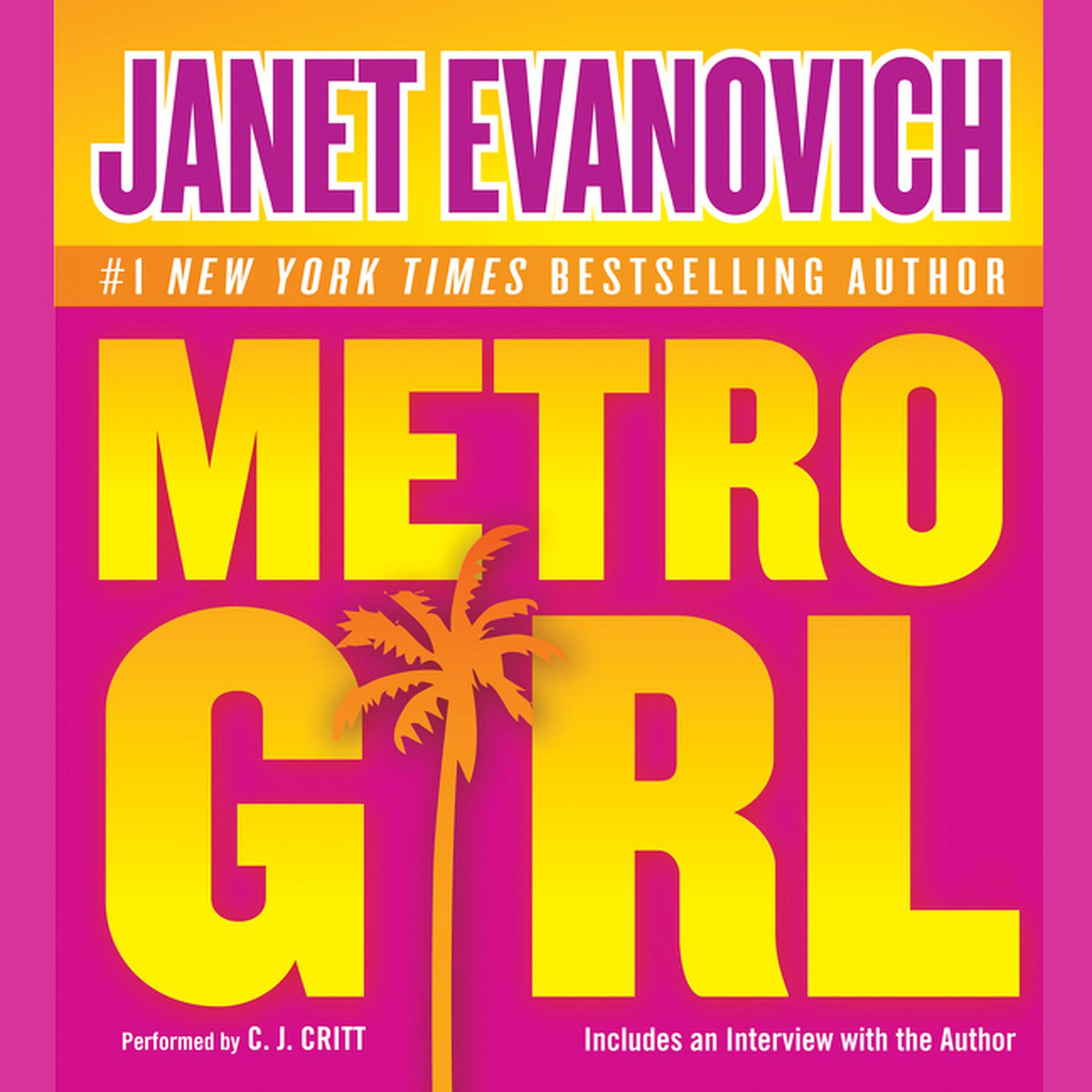 Printable Metro Girl Audiobook Cover Art