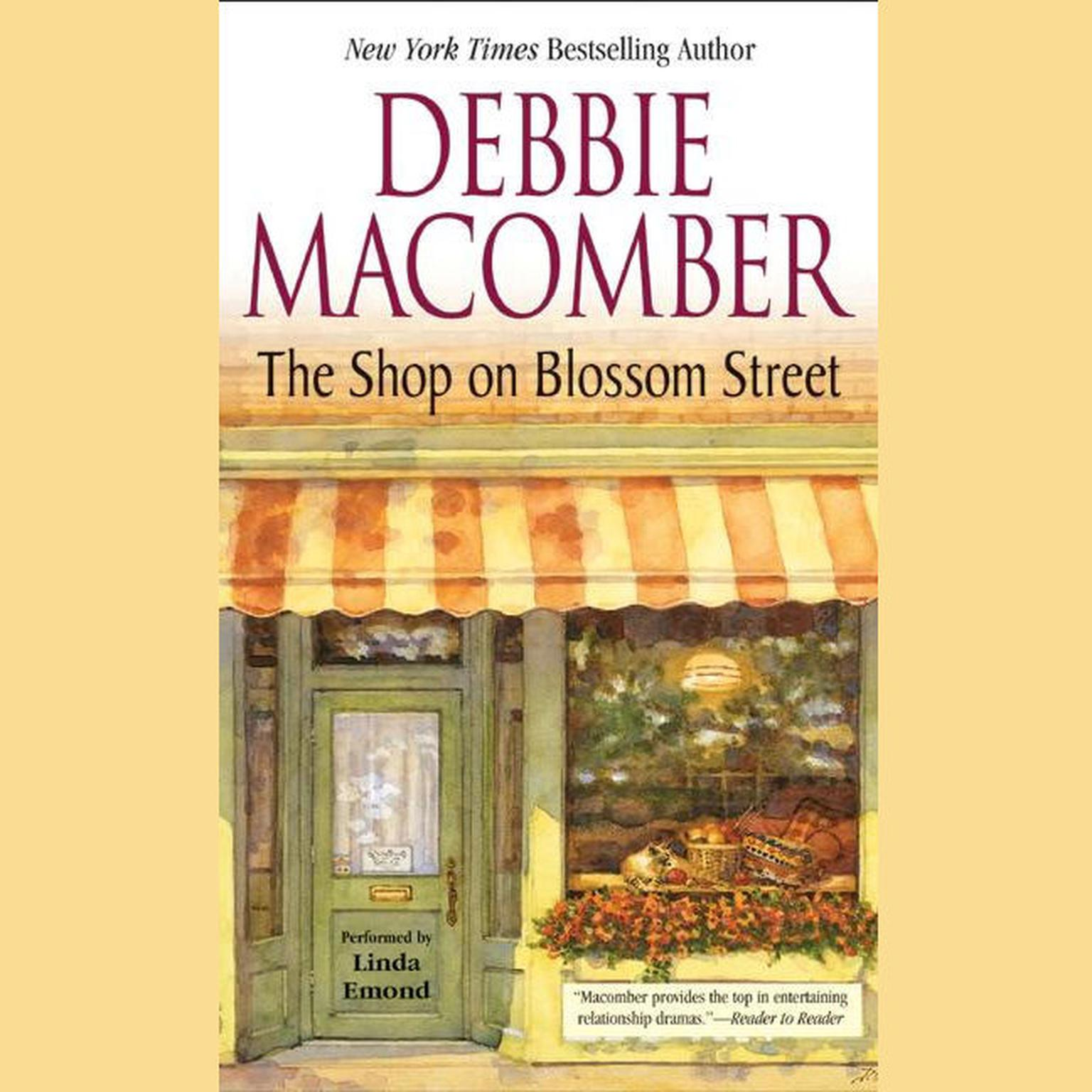 Printable The Shop on Blossom Street Audiobook Cover Art