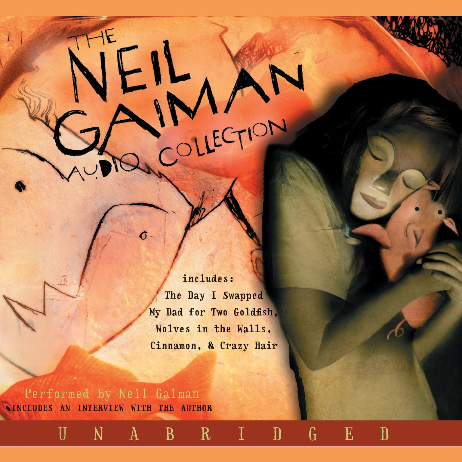 Printable The Neil Gaiman Audio Collection Audiobook Cover Art