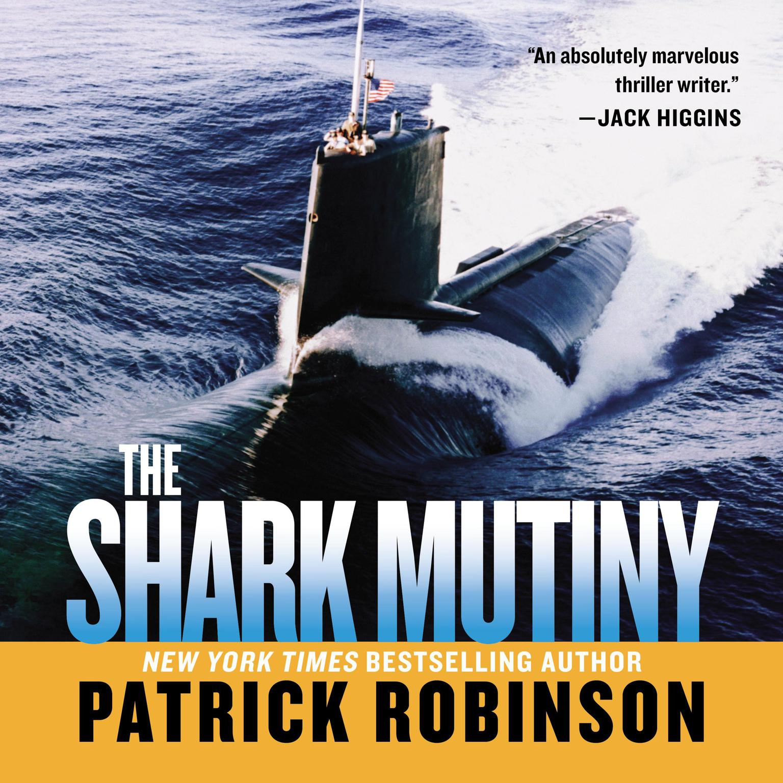 Printable Shark Mutiny Audiobook Cover Art