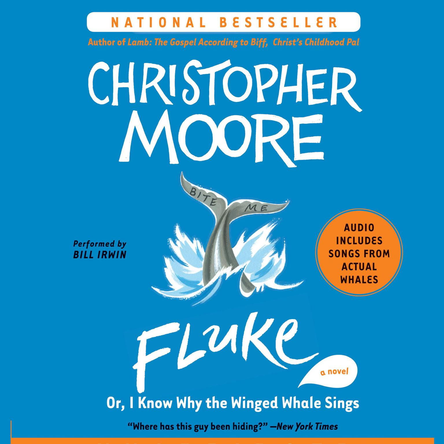 Printable Fluke: Or, I Know Why the Winged Whale Sings Audiobook Cover Art