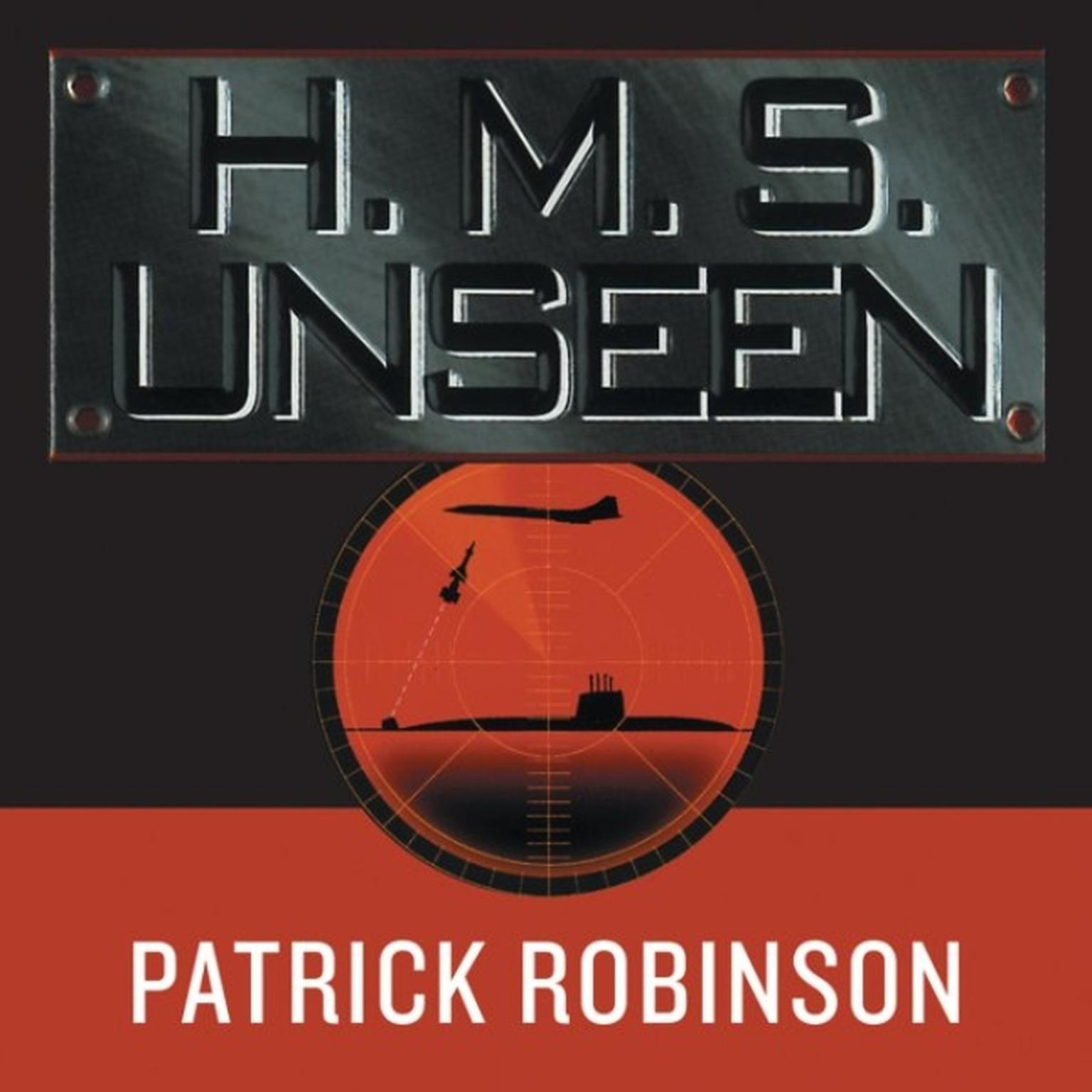 Printable HMS Unseen Audiobook Cover Art