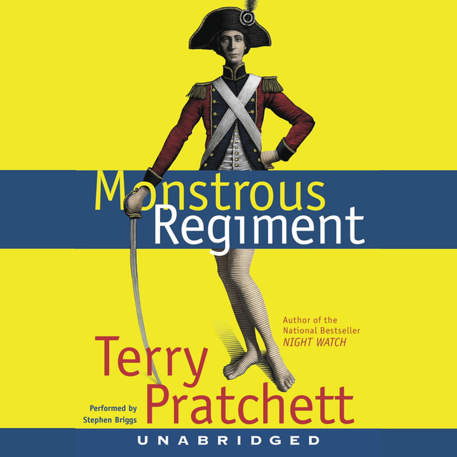 Printable Monstrous Regiment Audiobook Cover Art