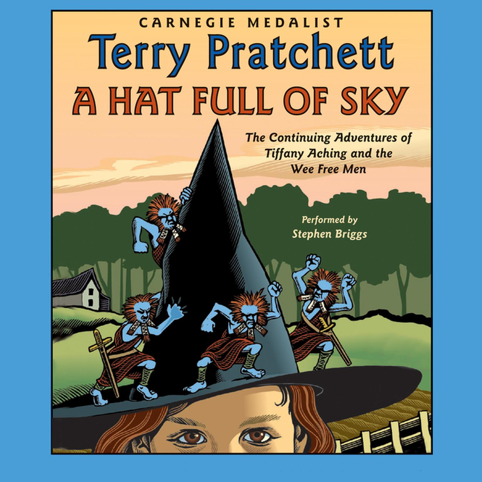 Printable A Hat Full of Sky Audiobook Cover Art