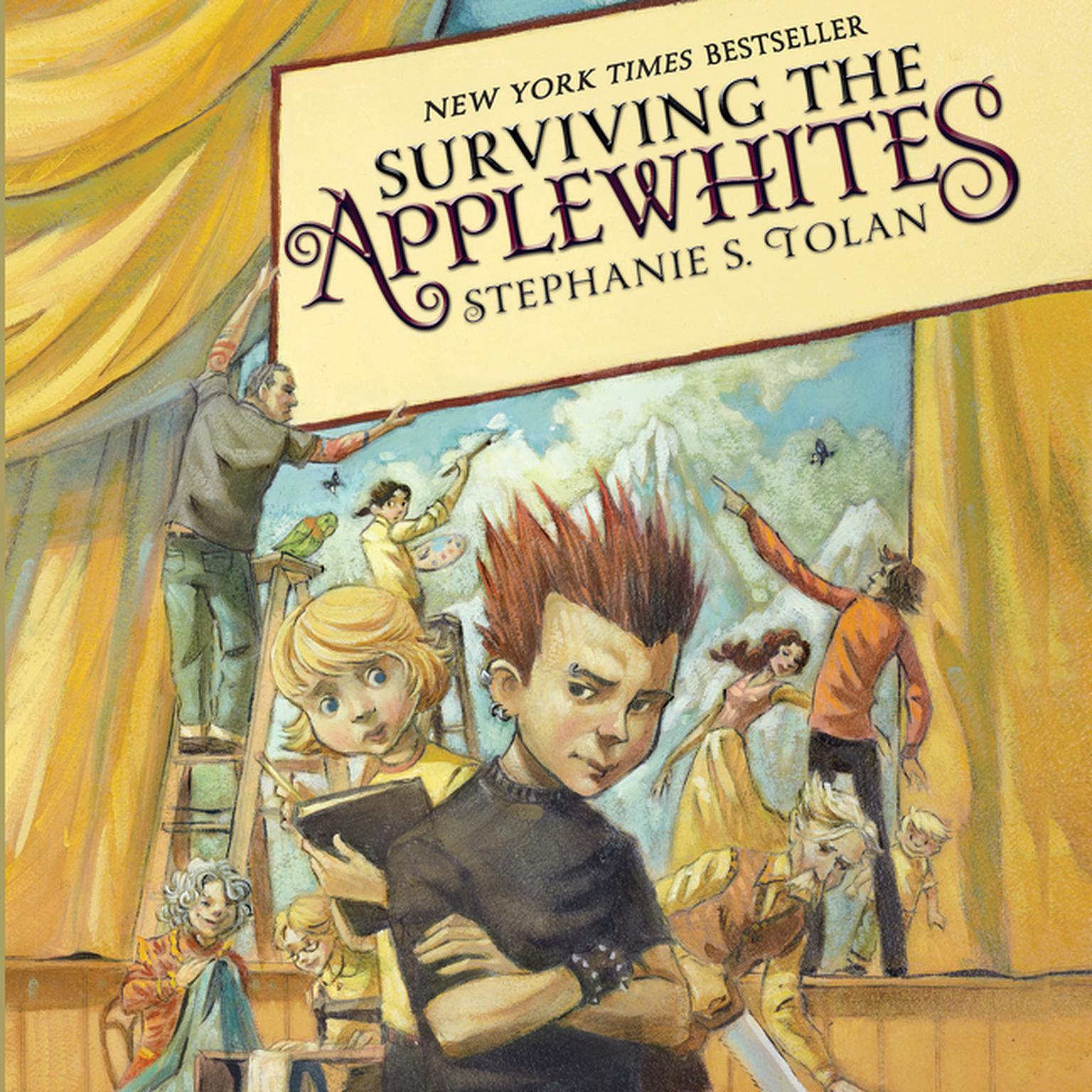 Printable Surviving the Applewhites Audiobook Cover Art