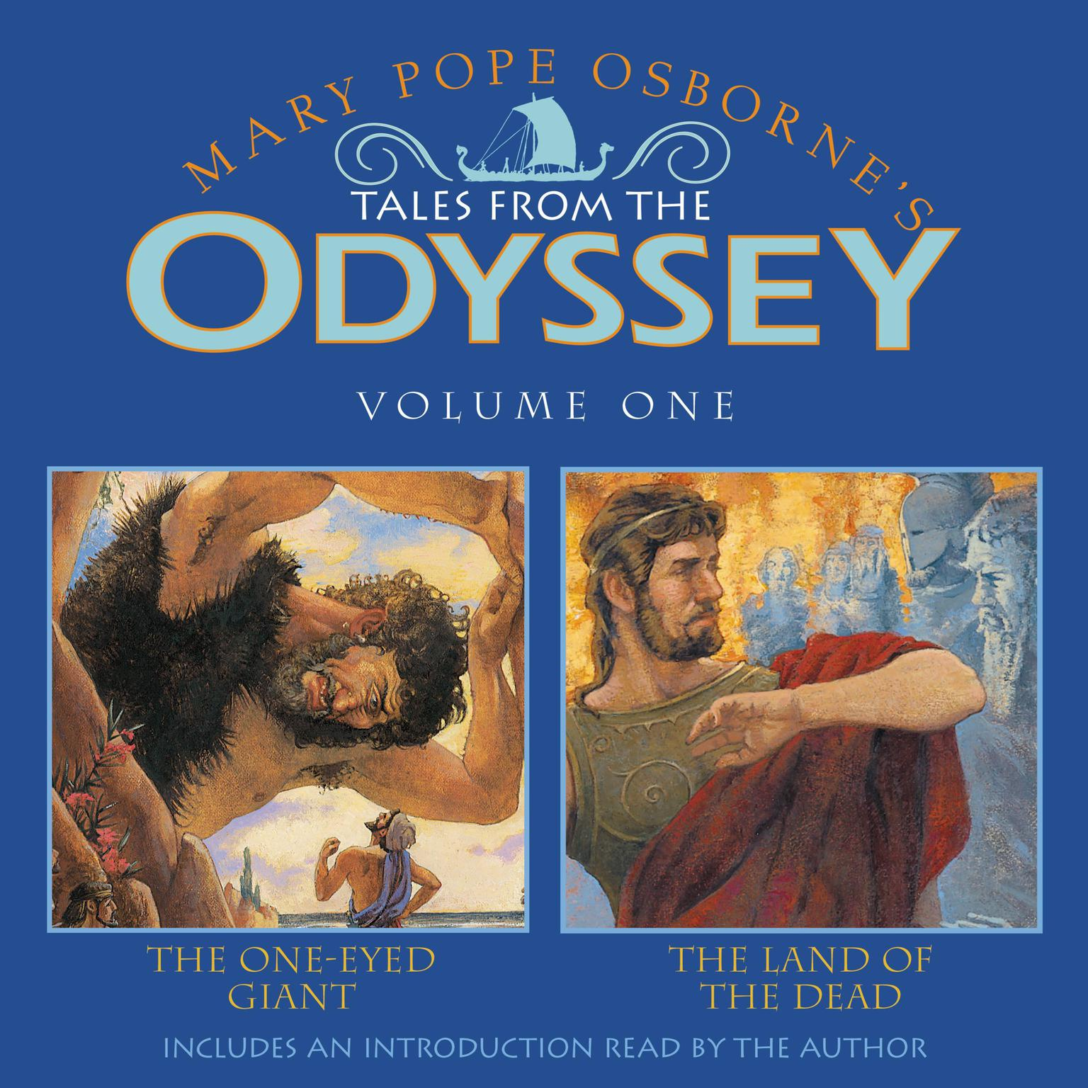 Printable Tales From The Odyssey #1 Audiobook Cover Art