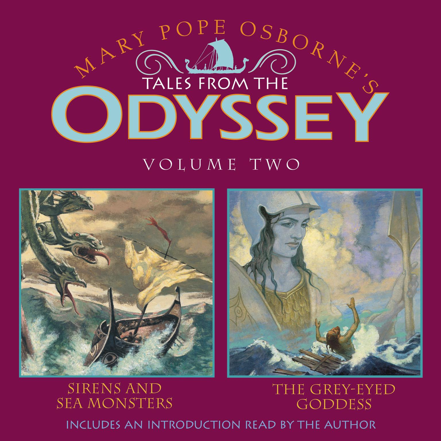 Printable Tales From the Odyssey #2 Audiobook Cover Art