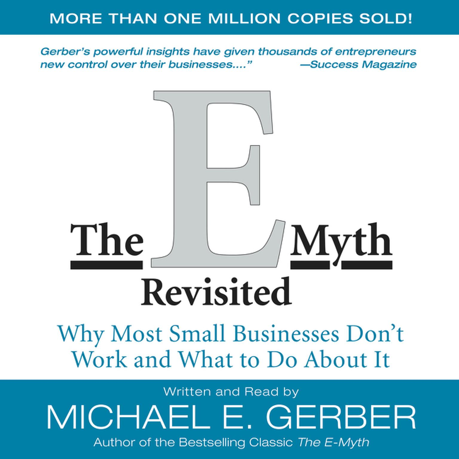 Printable The E-Myth Revisited: Why Most Small Businesses Don't Work and Audiobook Cover Art