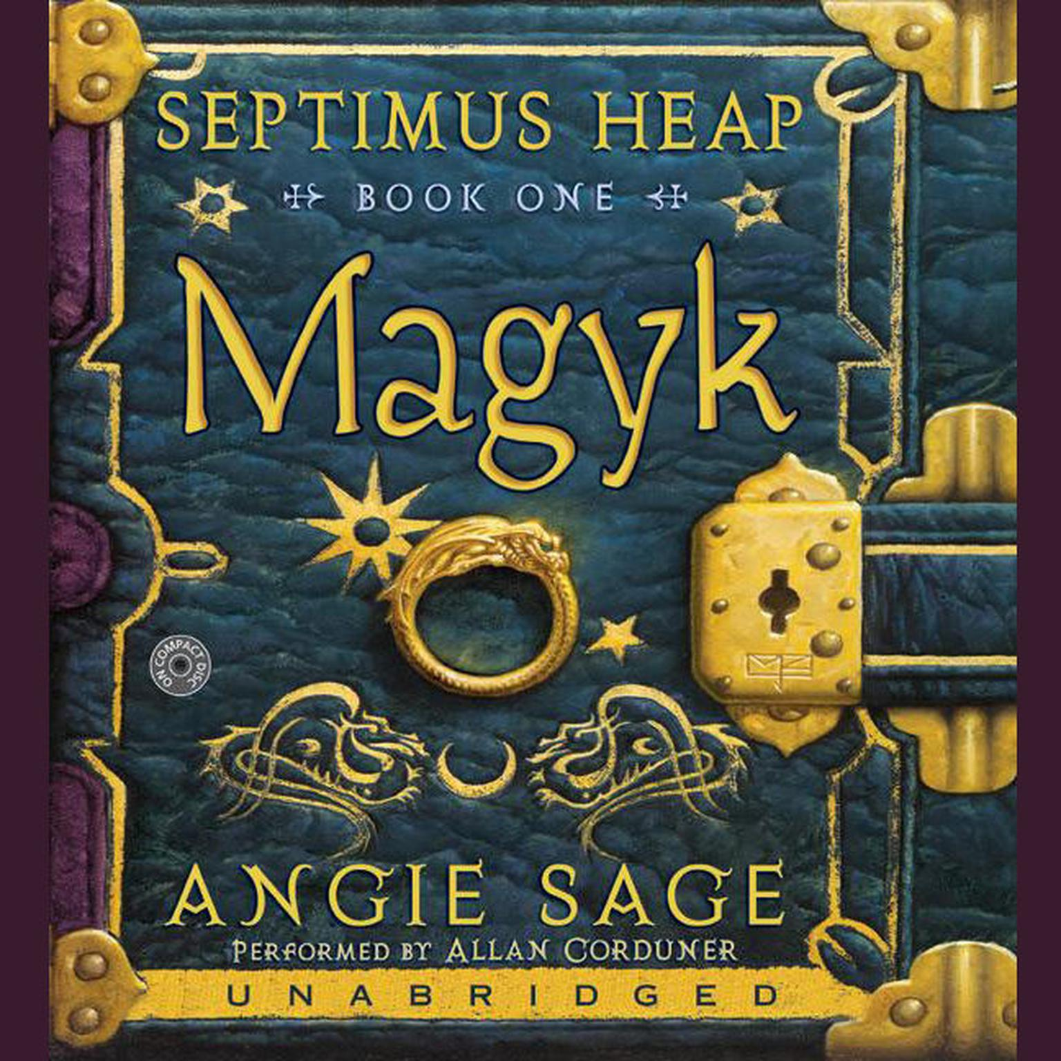 Printable Magyk Audiobook Cover Art