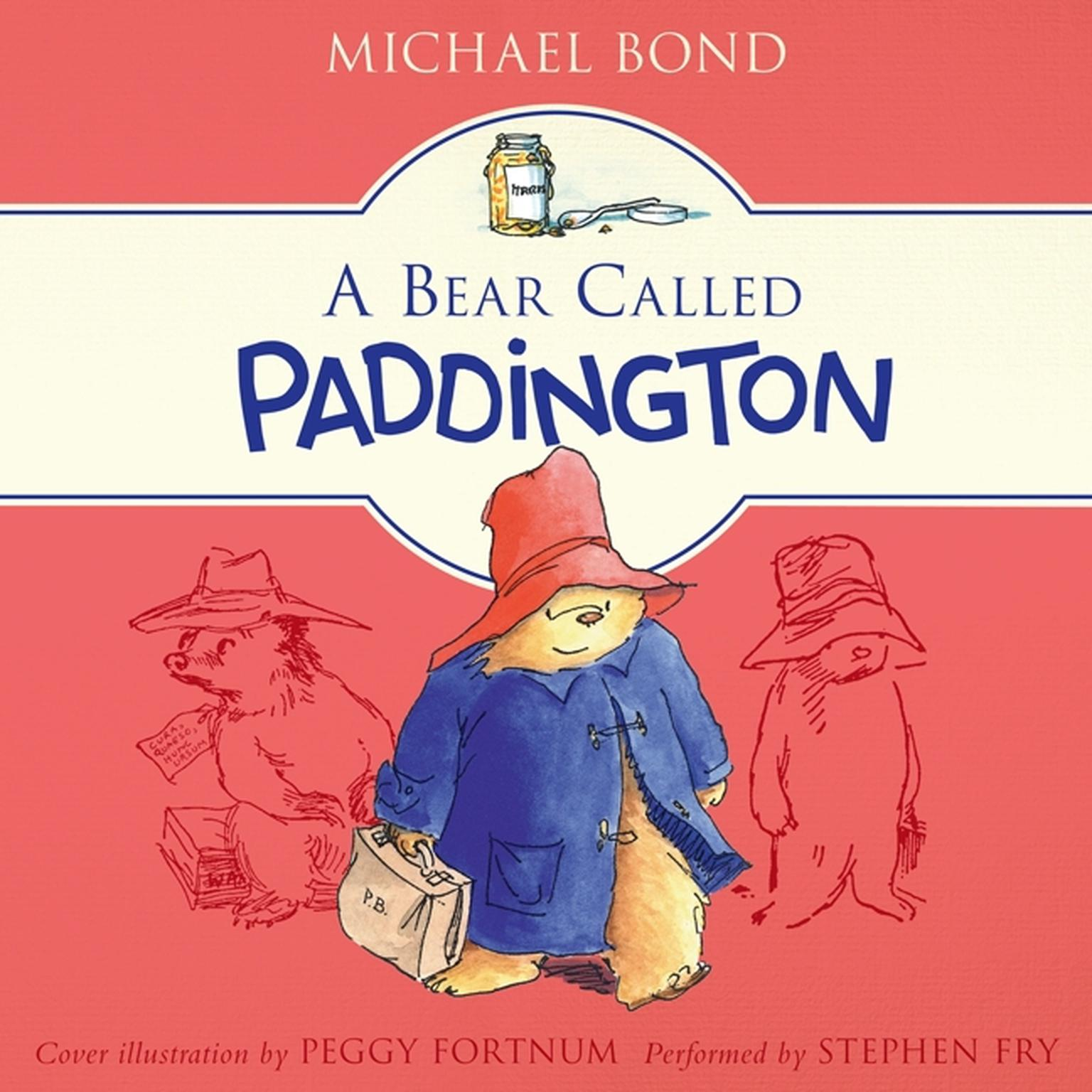 Printable A Bear Called Paddington Audiobook Cover Art