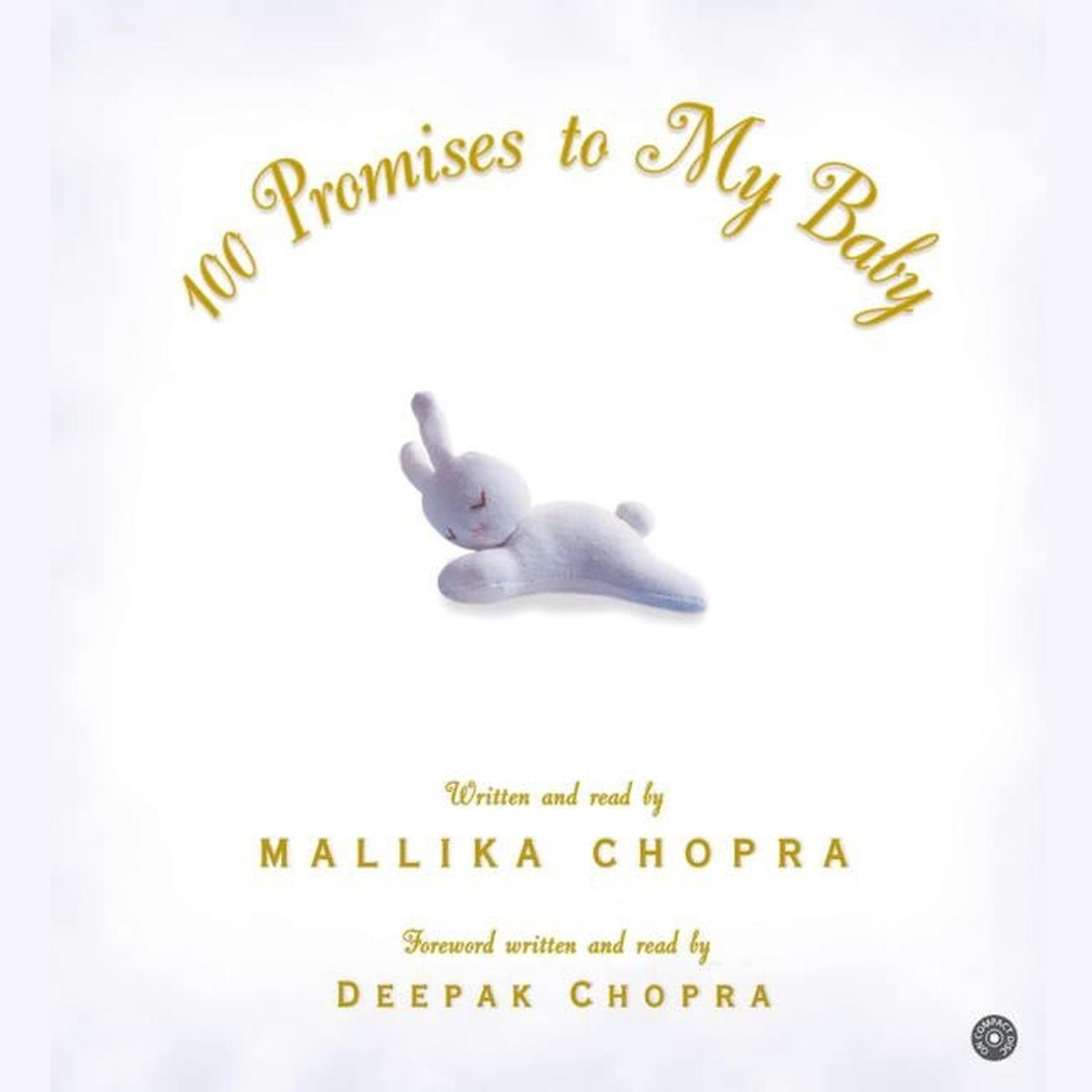 Printable 100 Promises to My Baby Audiobook Cover Art