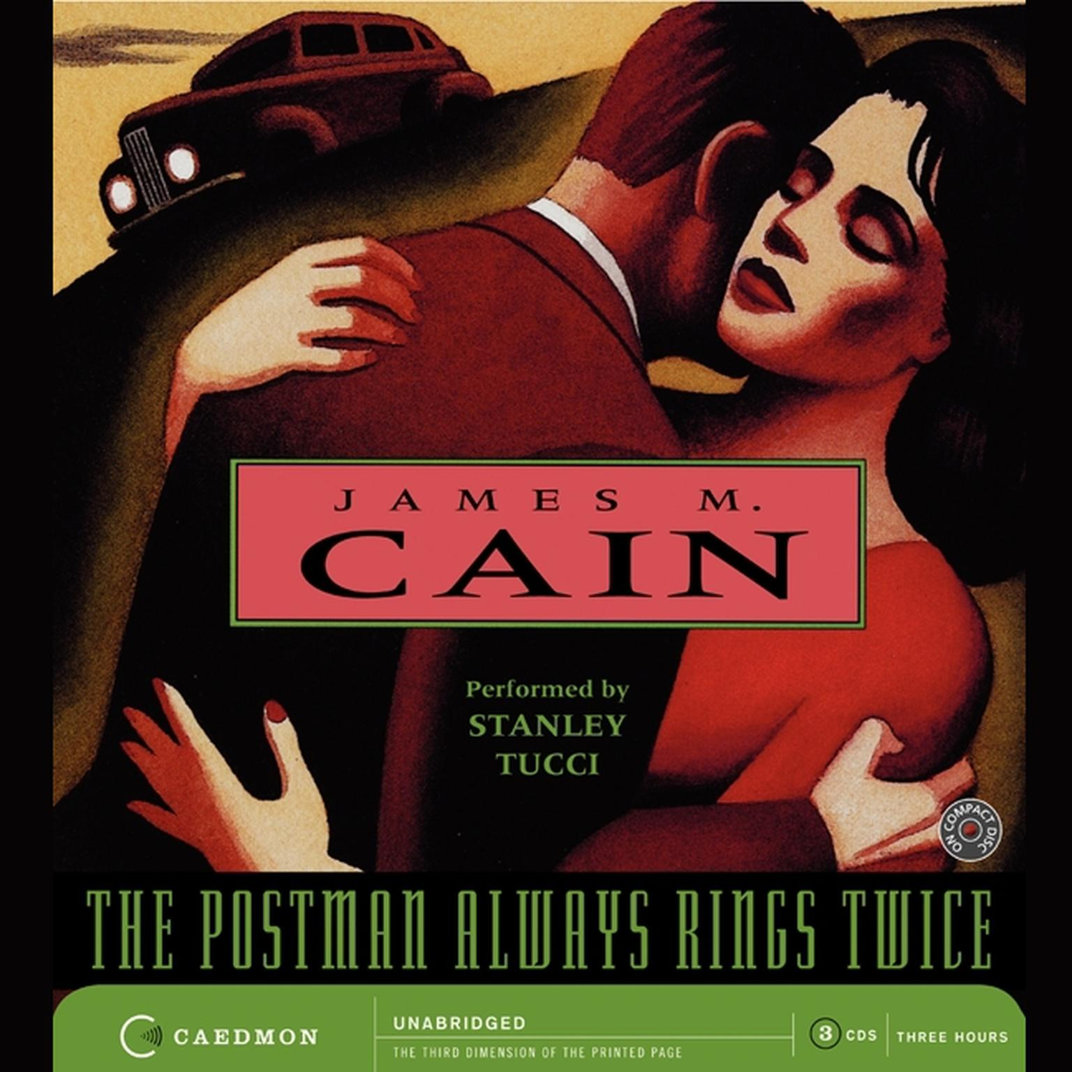 Printable The Postman Always Rings Twice Audiobook Cover Art