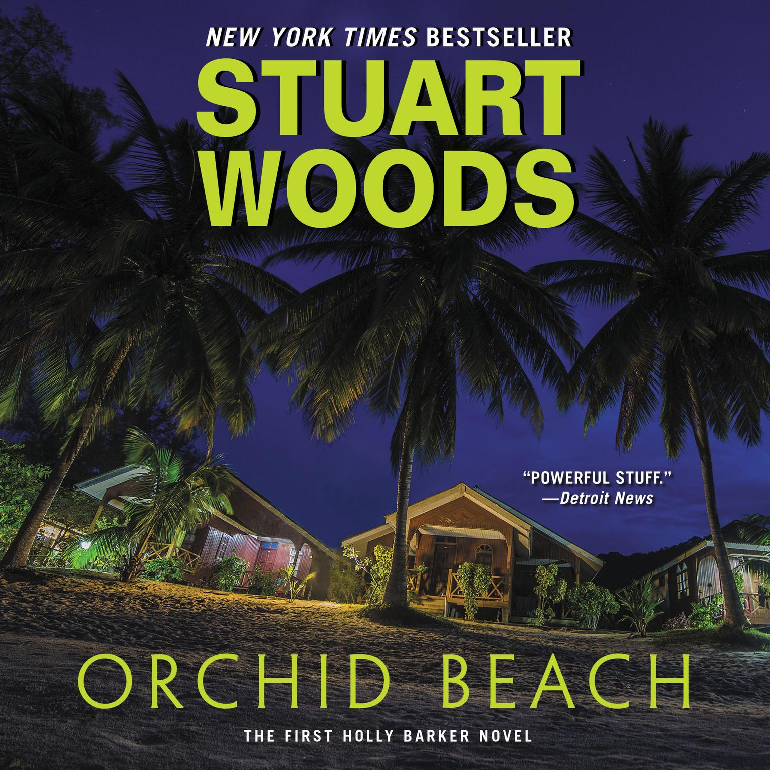 Printable Orchid Beach Audiobook Cover Art