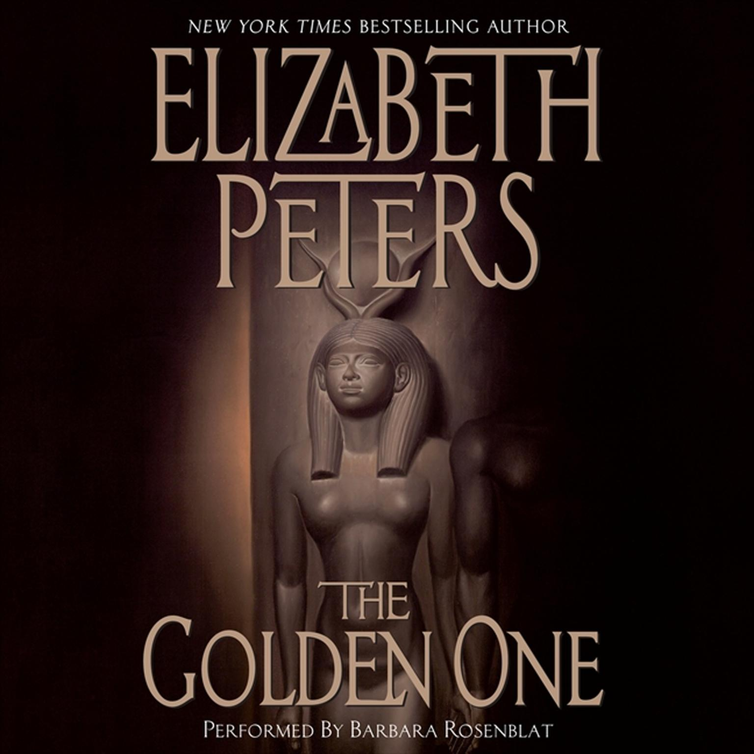 Printable The Golden One Audiobook Cover Art