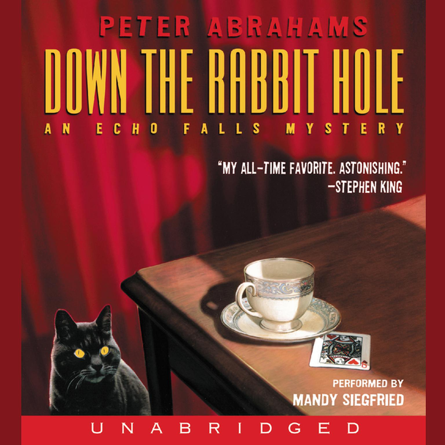 Printable Down the Rabbit Hole: An Echo Falls Mystery Audiobook Cover Art