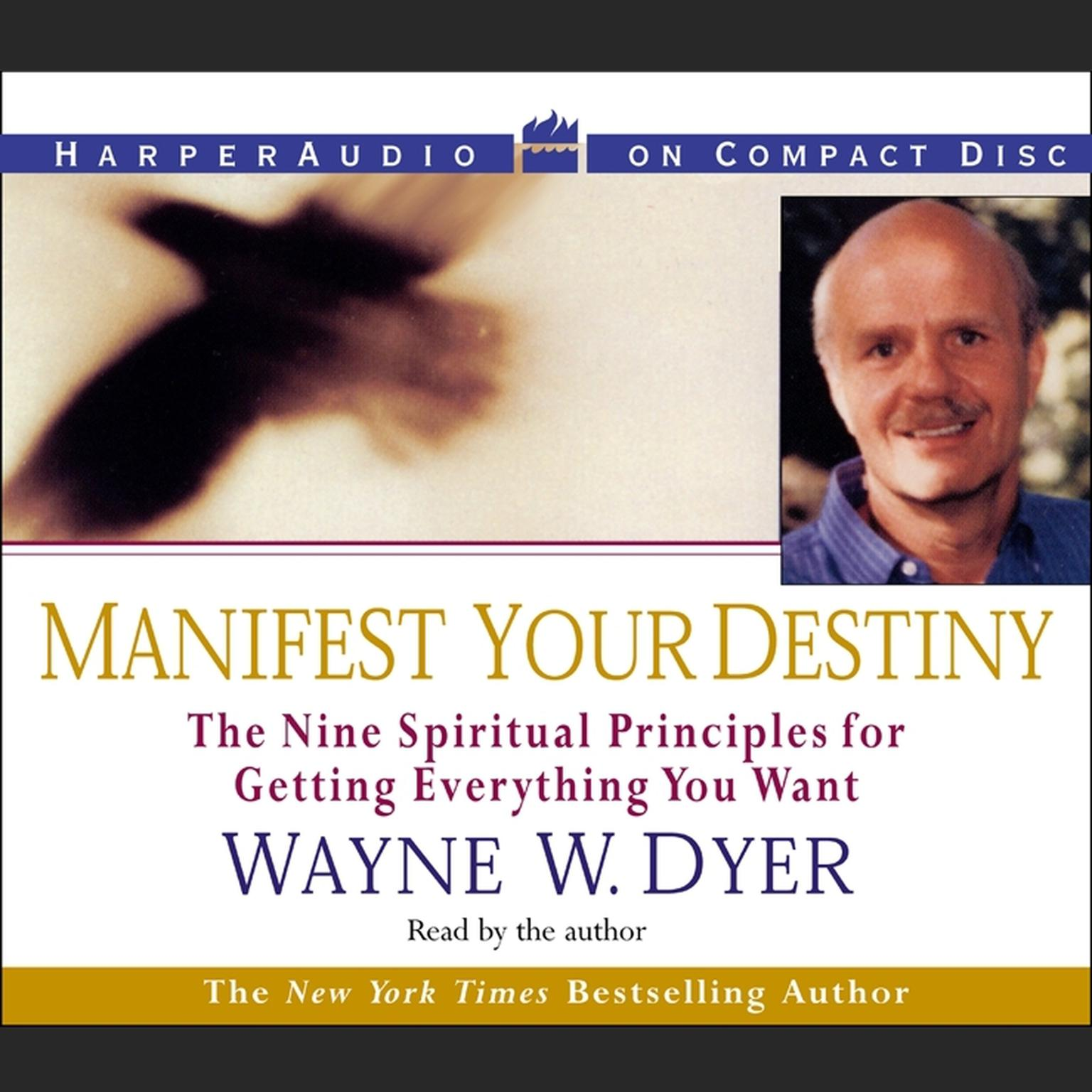 Printable Manifest Your Destiny Audiobook Cover Art