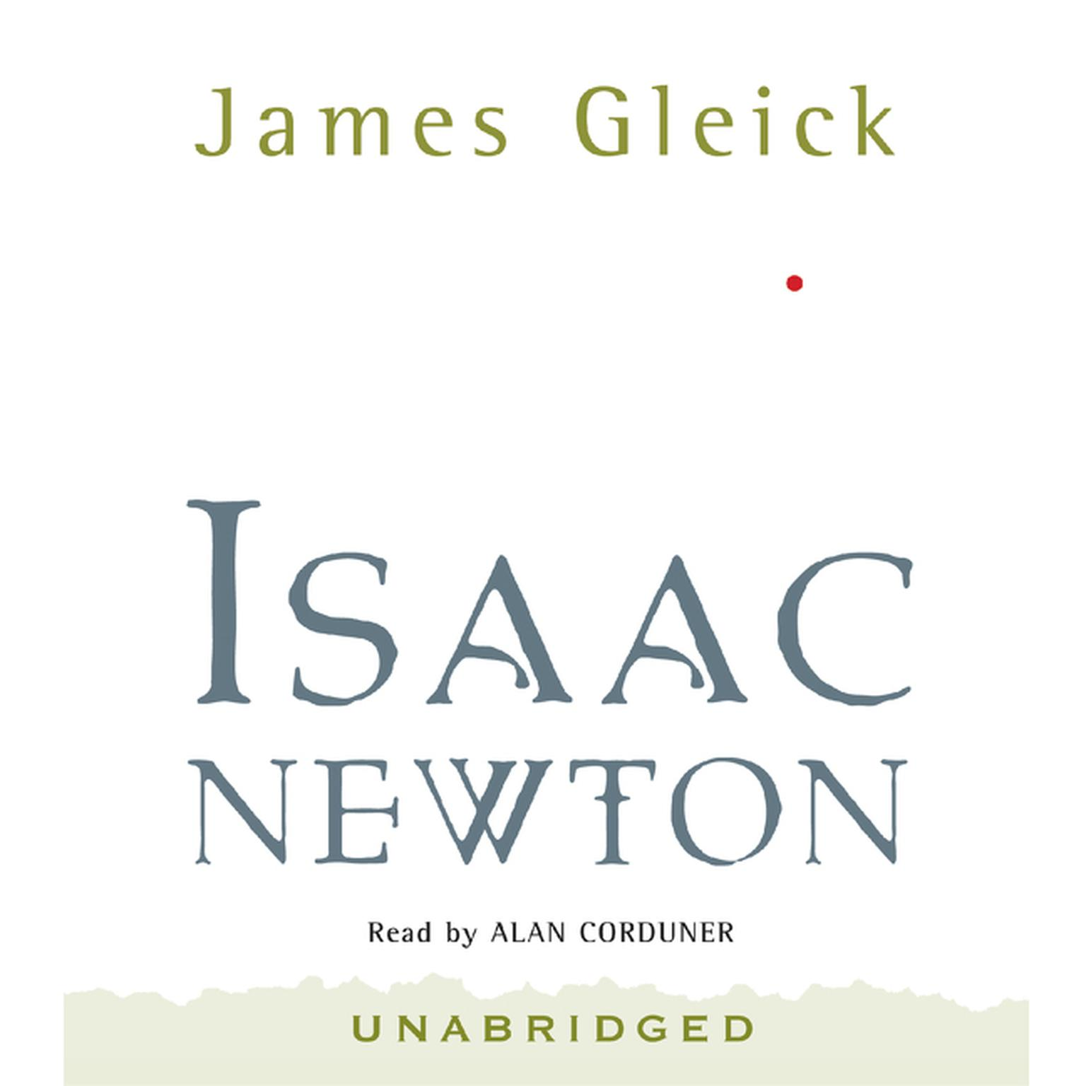 Printable Isaac Newton Audiobook Cover Art