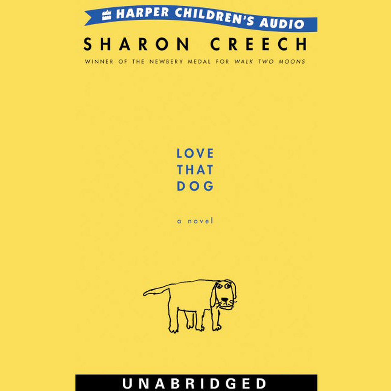 Printable Love That Dog Audiobook Cover Art