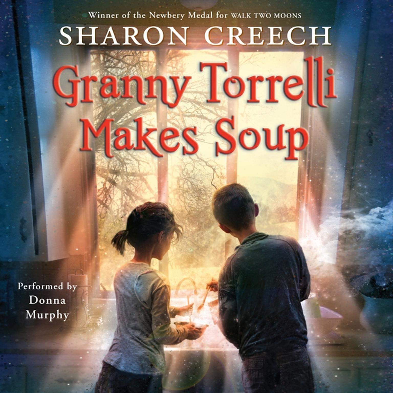 Printable Granny Torrelli Makes Soup Audiobook Cover Art
