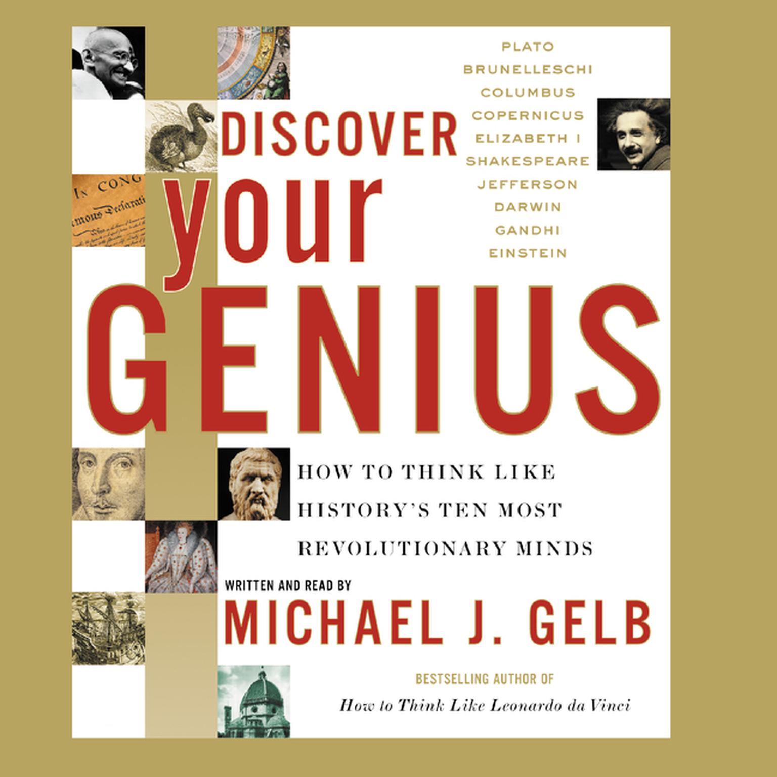 Printable Discover Your Genius Audiobook Cover Art