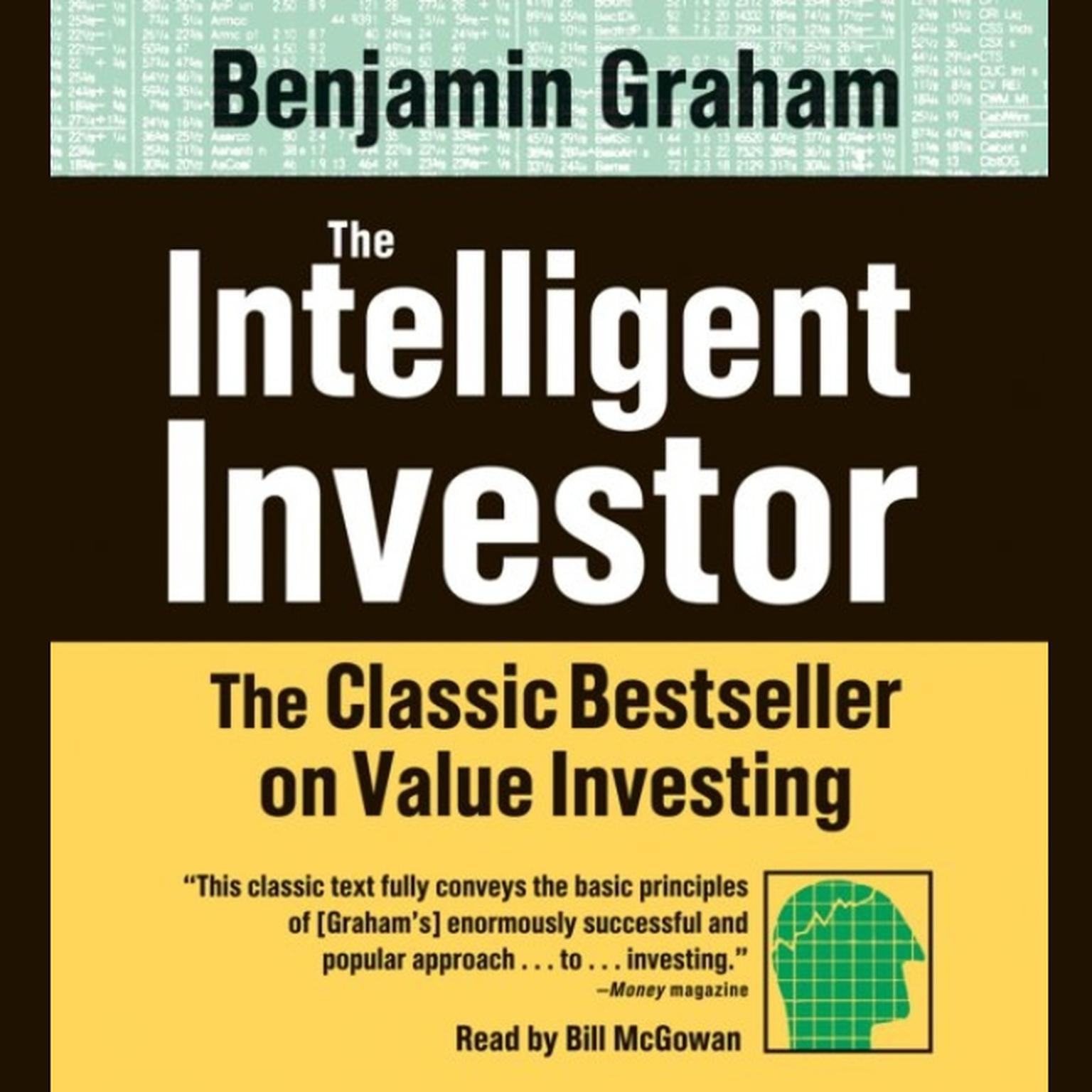 Printable The Intelligent Investor Audiobook Cover Art