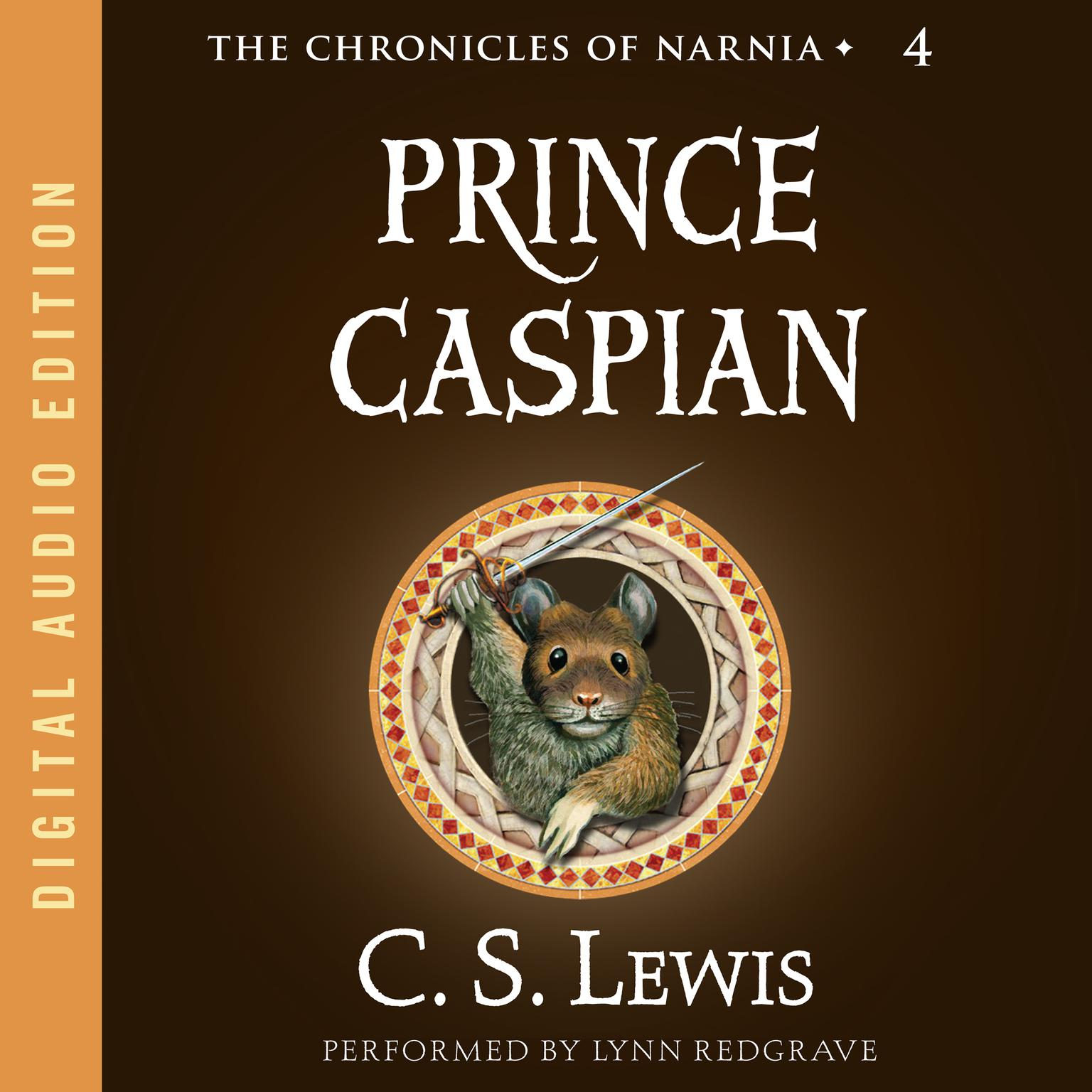 Printable Prince Caspian Audiobook Cover Art