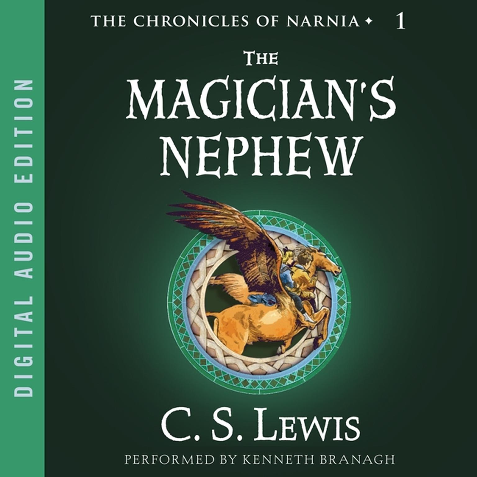 Printable The Magician's Nephew Audiobook Cover Art