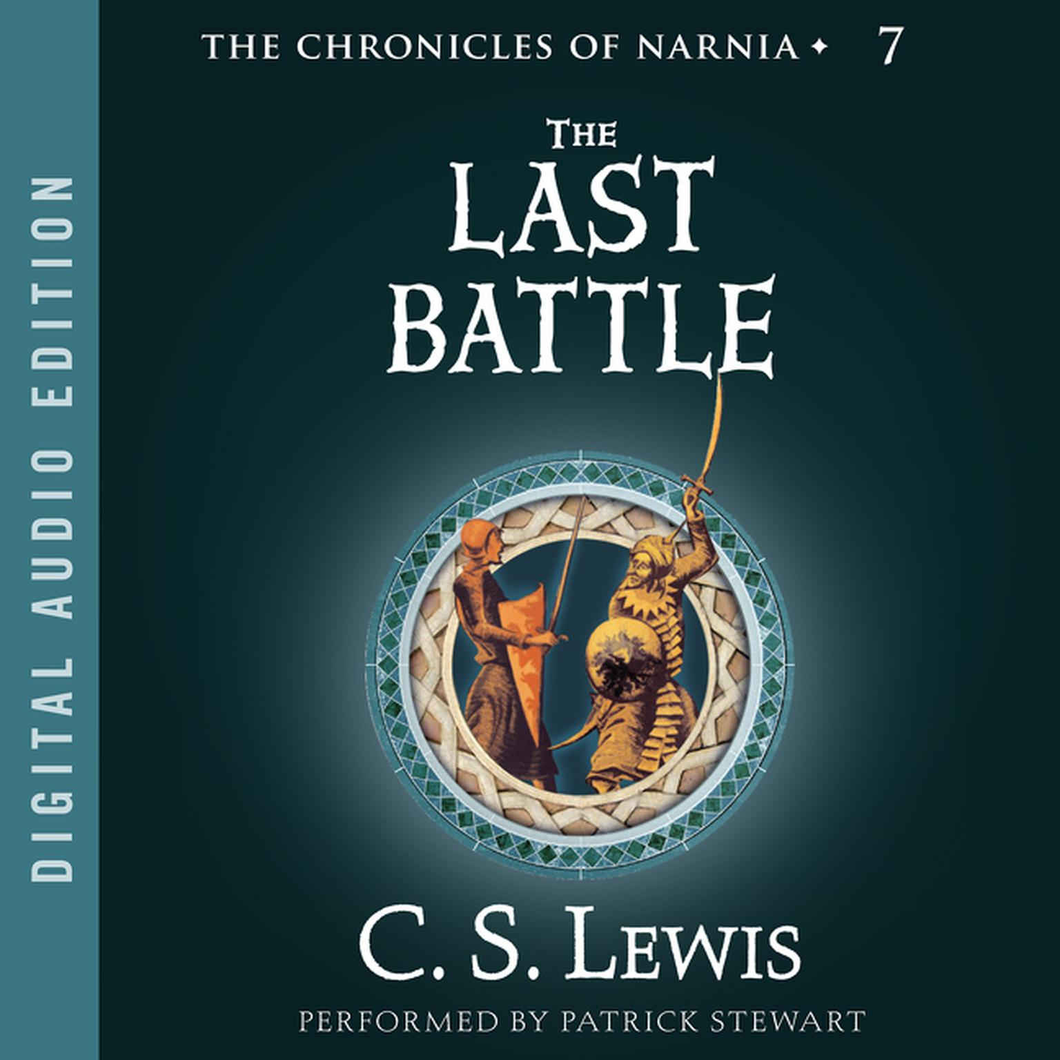Printable The Last Battle Audiobook Cover Art