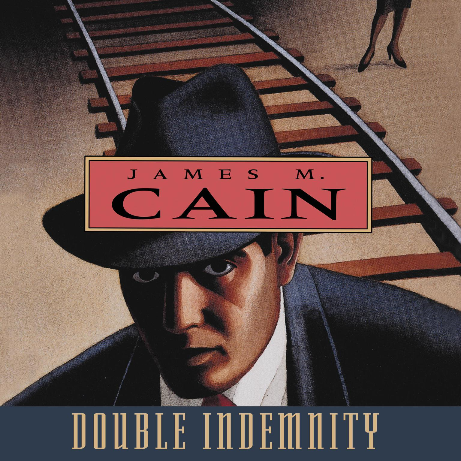 Printable Double Indemnity Audiobook Cover Art