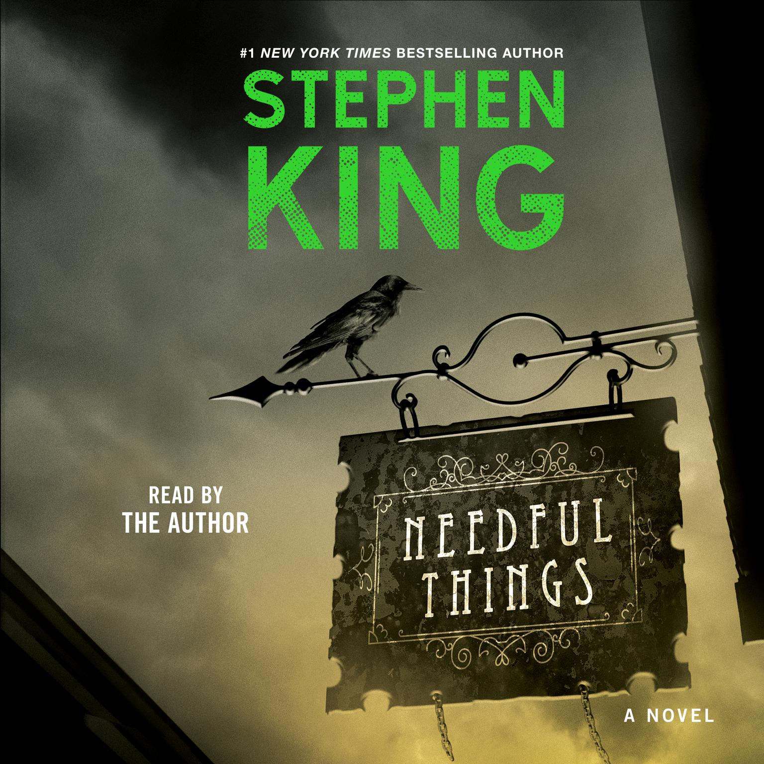 Printable Needful Things Audiobook Cover Art
