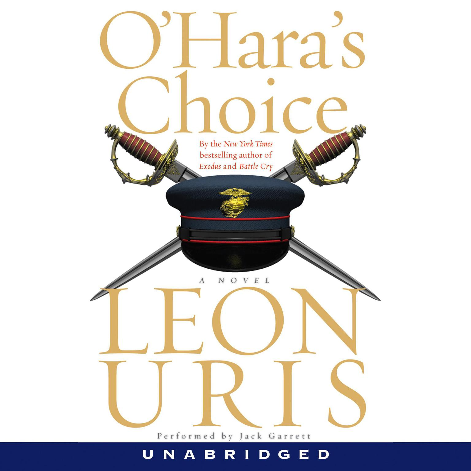 Printable O'Hara's Choice Audiobook Cover Art