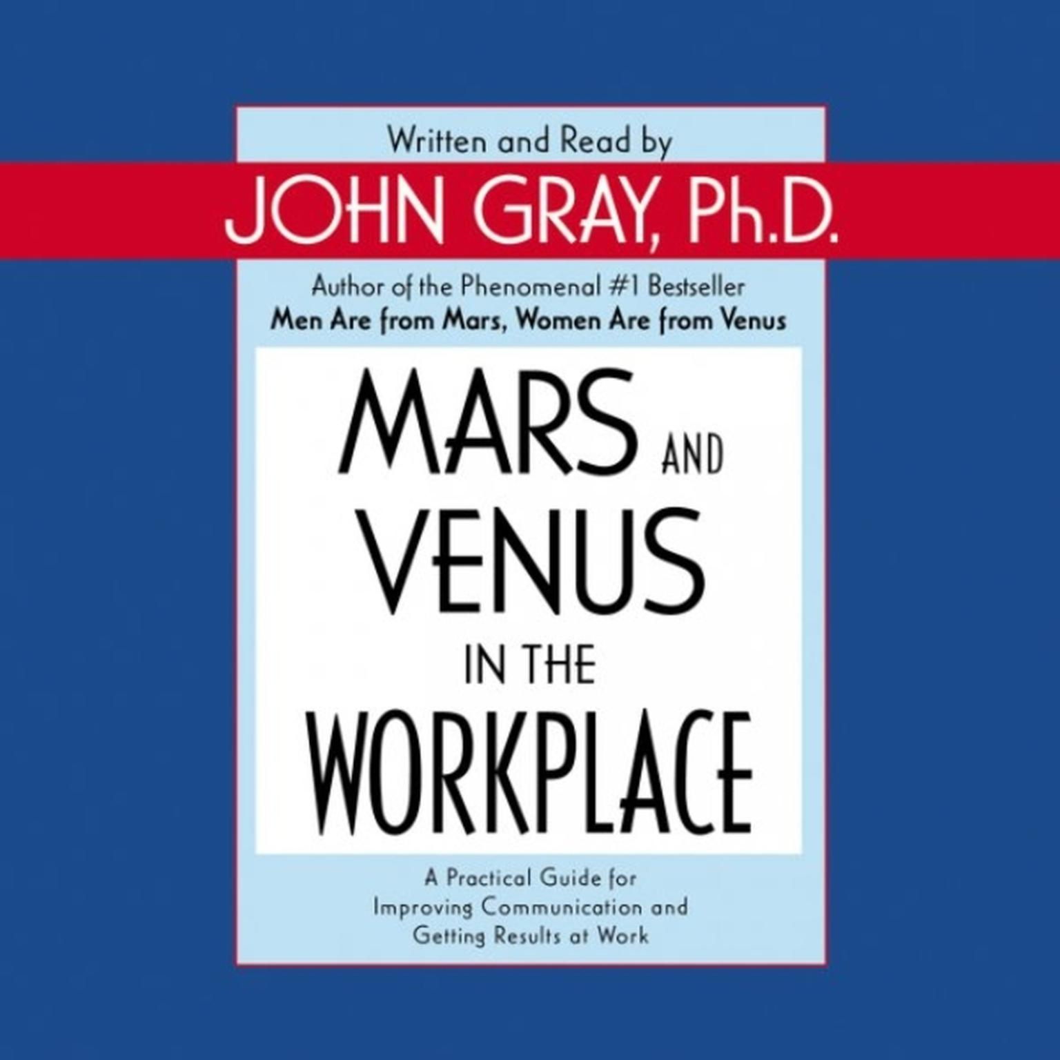 Printable Mars and Venus in the Workplace Audiobook Cover Art