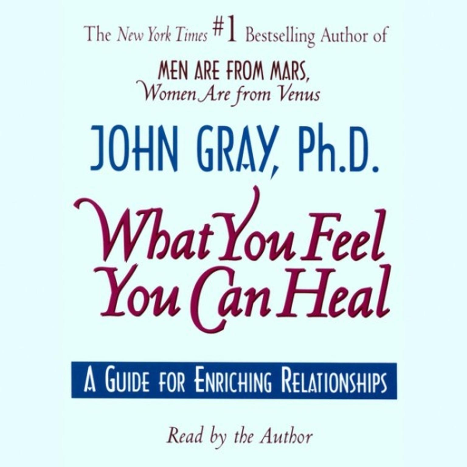 Printable What You Feel You Can Heal: A Guide for Enriching Relationships Audiobook Cover Art