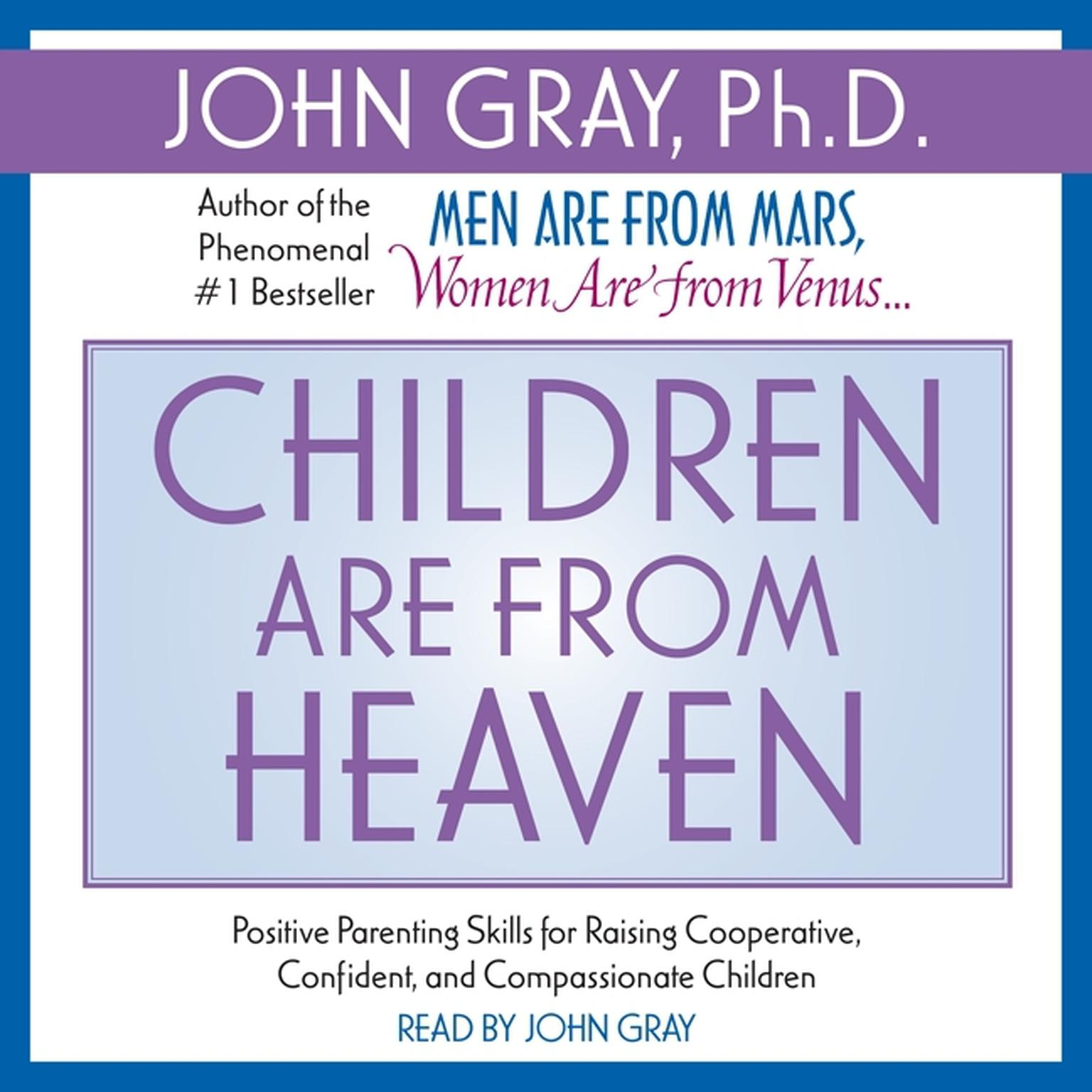 Printable Children Are from Heaven Audiobook Cover Art