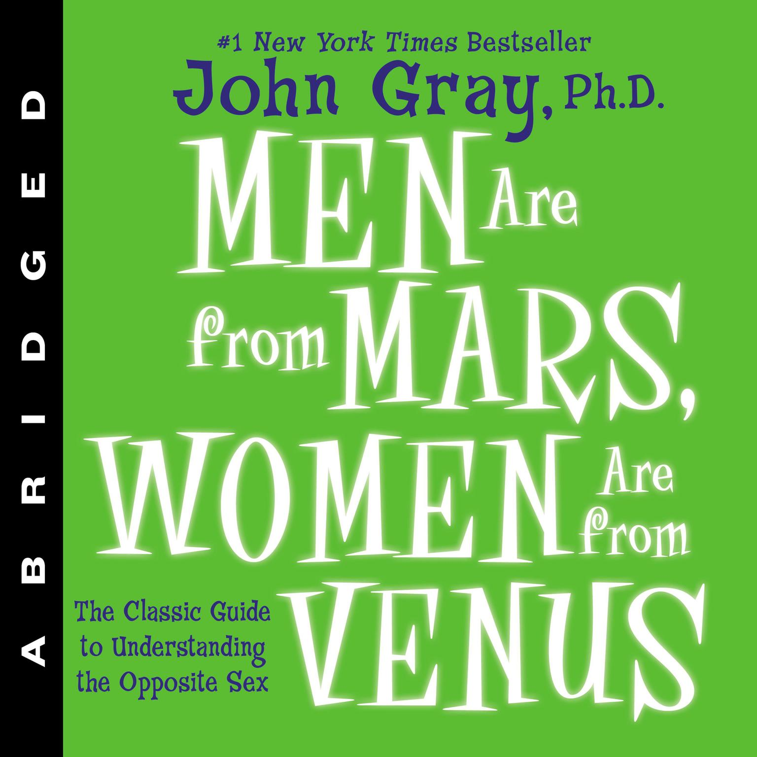 Printable Men Are From Mars: The Classic Guide to Understanding the Opposite Sex Audiobook Cover Art