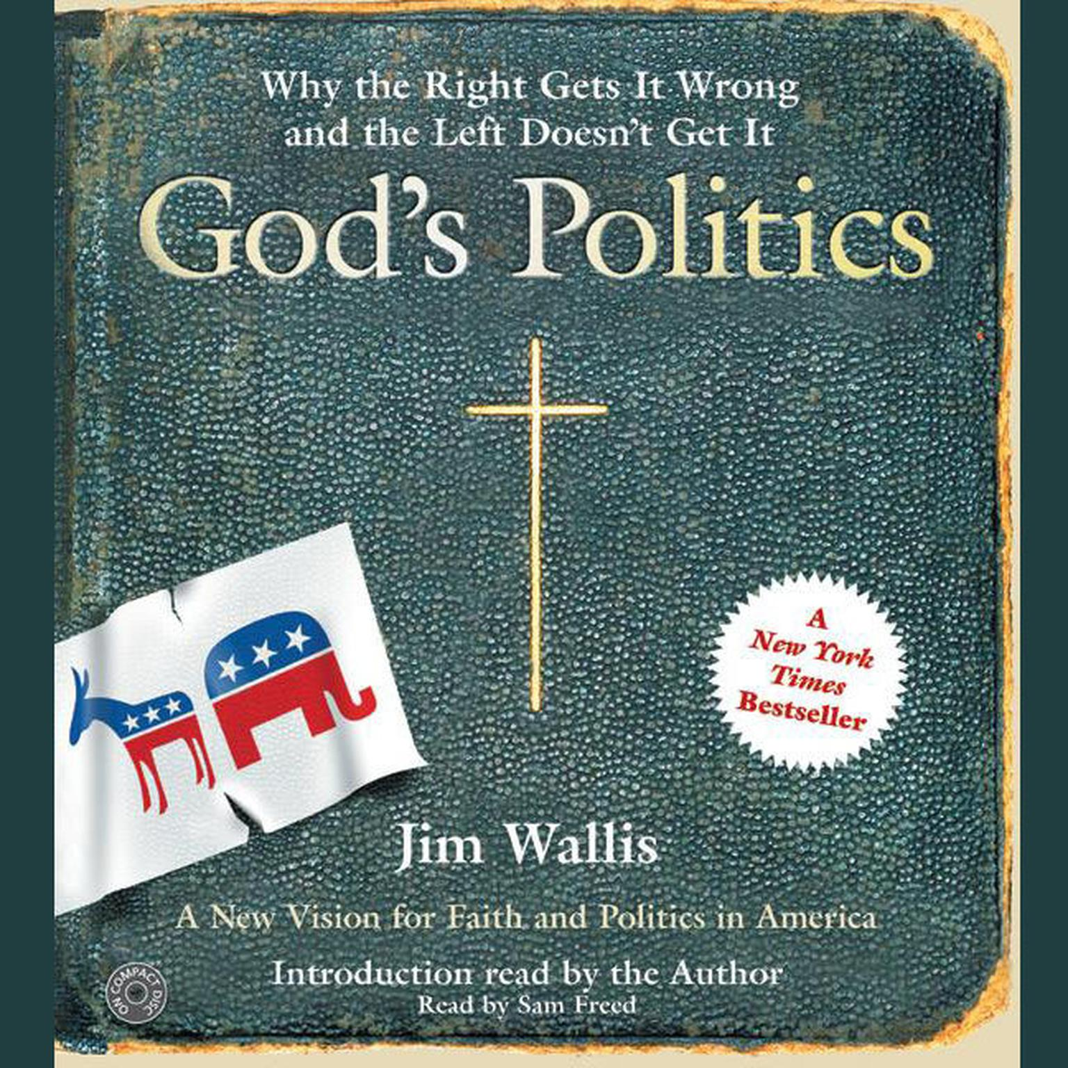 Printable God's Politics: Why the Right Gets It Wrong and the Left Doesn't Get It Audiobook Cover Art