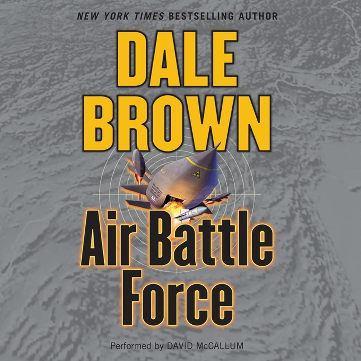 Printable Air Battle Force: A Novel Audiobook Cover Art