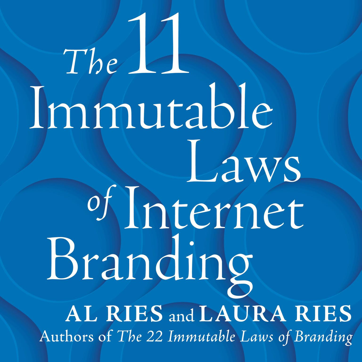 Printable The 11 Immutable Laws of Internet Branding Audiobook Cover Art