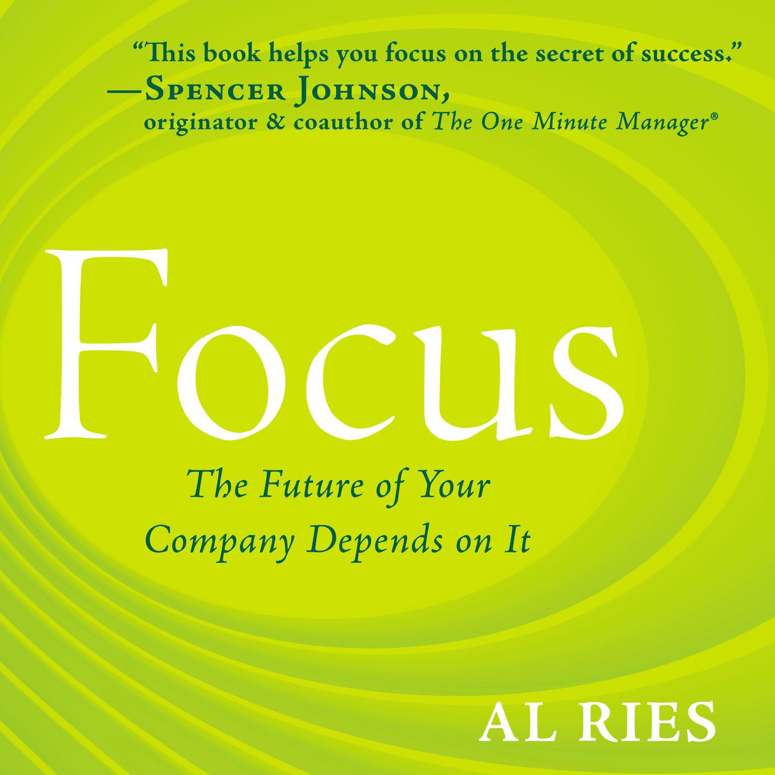 Printable Focus: The Future of Your Company Depends on It Audiobook Cover Art