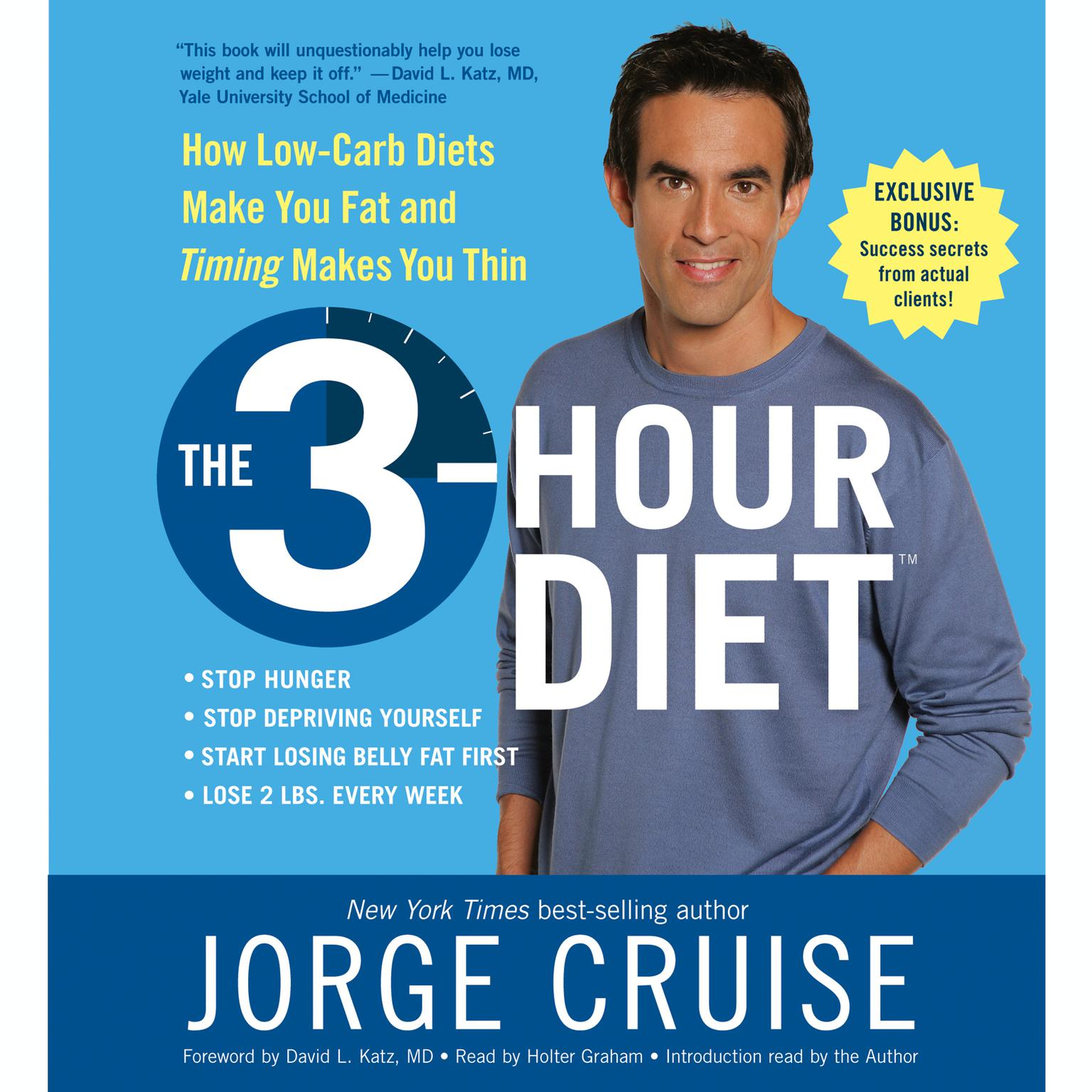 Printable The 3-Hour Diet (TM) Audiobook Cover Art