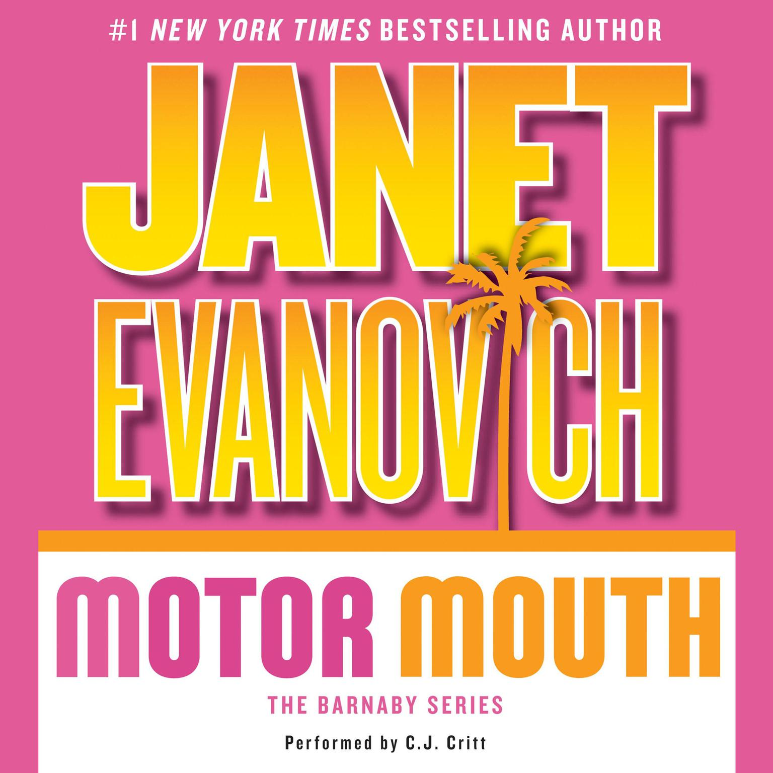 Printable Motor Mouth Audiobook Cover Art