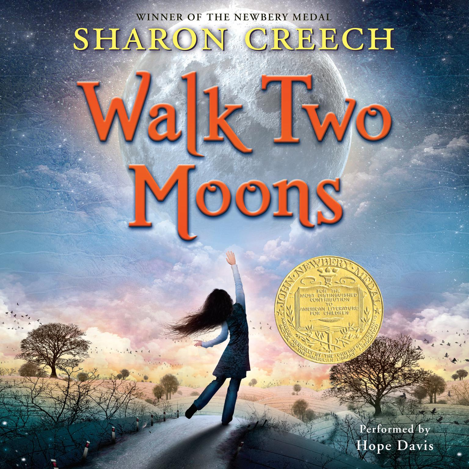 Printable Walk Two Moons Audiobook Cover Art