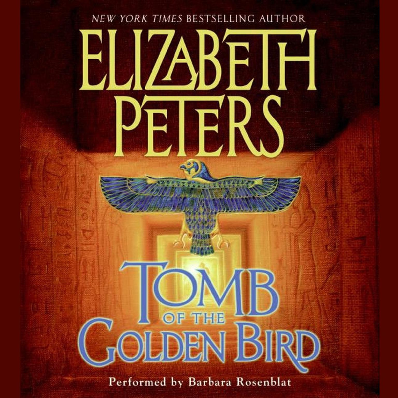 Printable Tomb of the Golden Bird Audiobook Cover Art