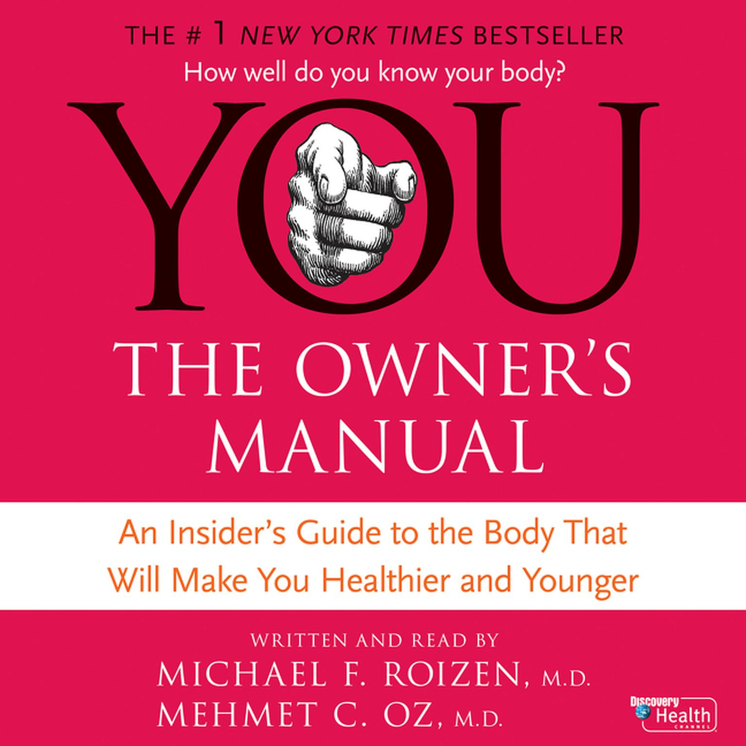 Printable You: The Owner's Manual Audiobook Cover Art