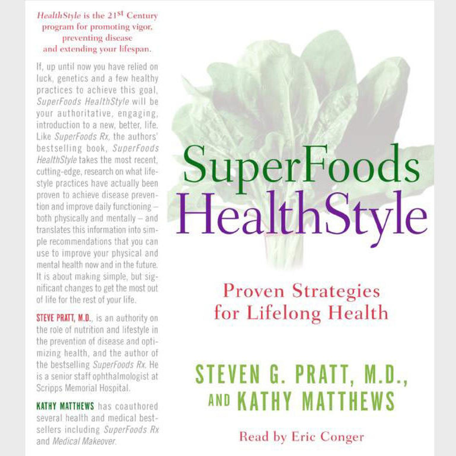 Printable SuperFoods Audio Collection: A Year of Rejuvenation Audiobook Cover Art