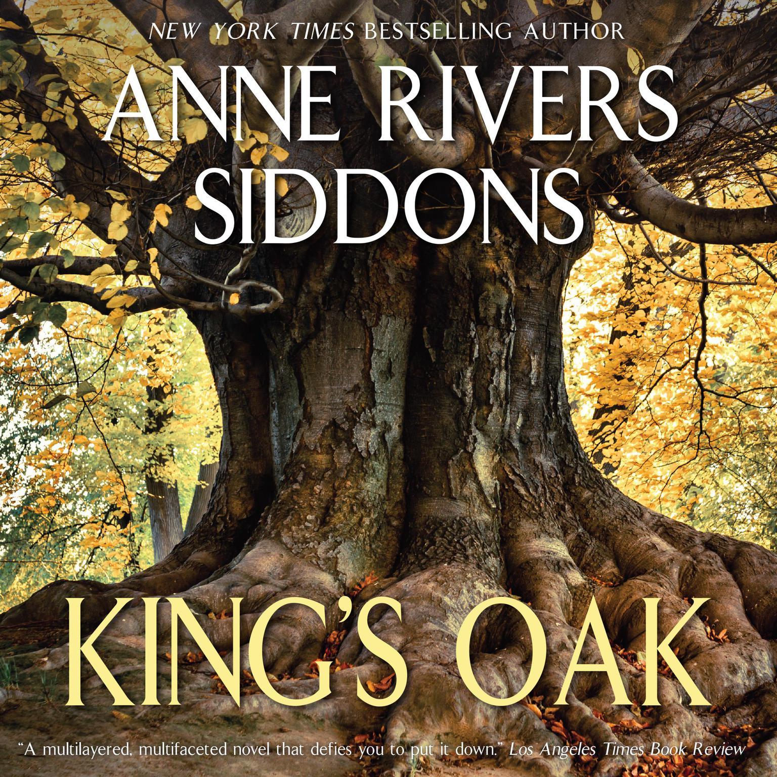 Printable King's Oak Audiobook Cover Art